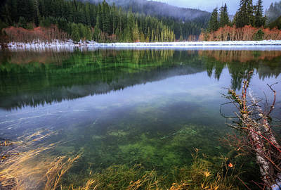 Photograph - Carmen Reservoir by Cat Connor