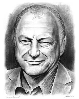 Dc Comics Drawing - Carmine Falcone by Greg Joens