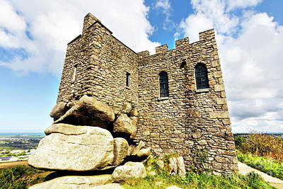 Photograph - Carn Brea Castle by Terri Waters