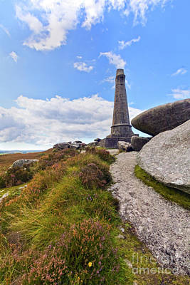 Photograph - Carn Brea Heather by Terri Waters