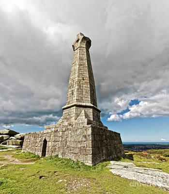 Photograph - Carn Brea Monument Cornwall by Terri Waters
