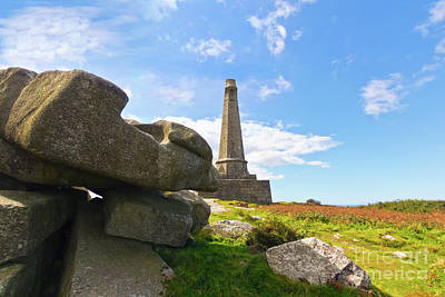 Photograph - Carn Brea Rocks by Terri Waters