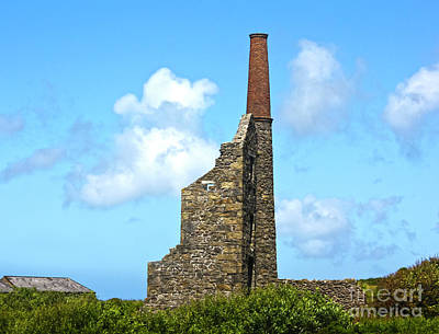 Photograph - Carn Galver Cornwall by Terri Waters