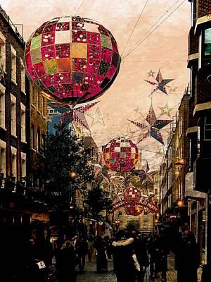 Photograph - Carnaby Street Christmas by Dorothy Berry-Lound