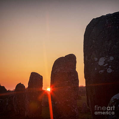 Royalty-Free and Rights-Managed Images - Carnac Sunrise by Colin and Linda McKie