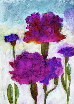 Painting - Carnations by Julie Maas