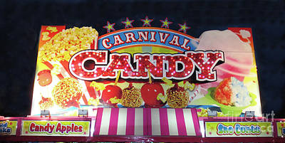 Photograph - Carnival Candy by Steven Parker