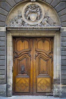 Photograph - Carnavalet Doors by Brian Jannsen