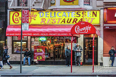 Photograph - Carnegie Deli by Thomas Marchessault