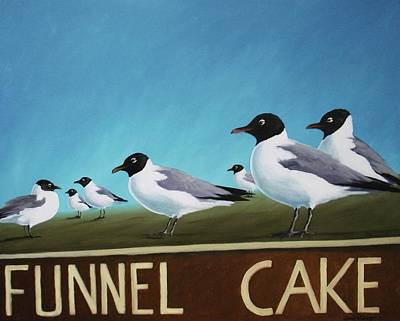 Painting - Carnies by Sarah Grangier