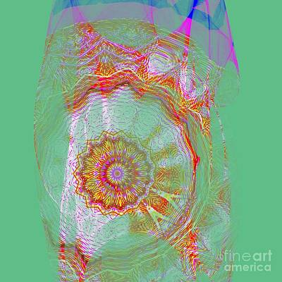 Royalty-Free and Rights-Managed Images - Carnival Abstract 8 by Mary Machare