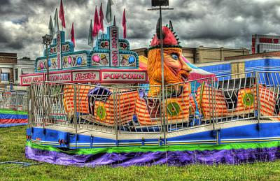 Carnival At Crocker Park Art Print by Neil Doren