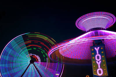 Photograph - Carnival At Night by Travis Rogers