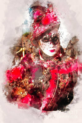 Photograph - Carnival Beauty Venice by Jack Torcello