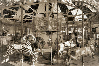 Photograph - Carnival Carousel by Donna Kennedy