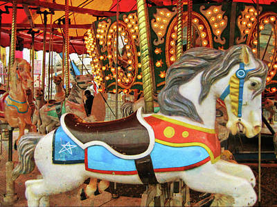 Photograph - Carnival Carousel by Jamart Photography