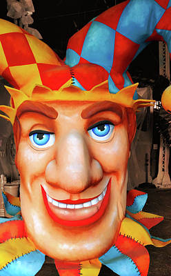 Photograph - Carnival Clown by JAMART Photography