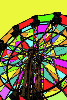 Photograph - Carnival Colors 2 by Mary Bedy