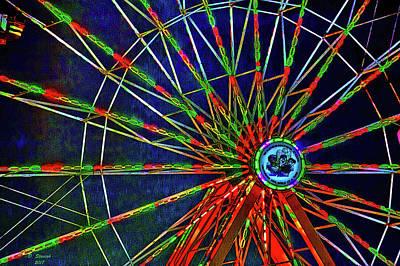 Digital Art - Carnival by David Stasiak