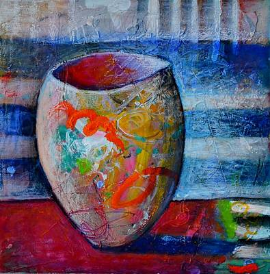 Painting - Carnival Glass #1 by Rosemary Healy