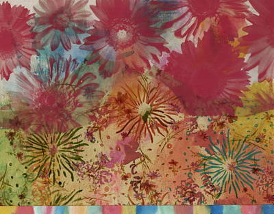 Fireworks Mixed Media - Carnival by Gloria Von Sperling