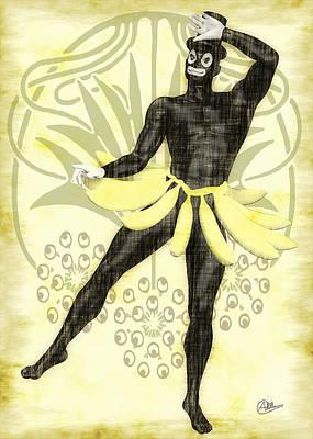 Bossa Nova Drawing - Old Hot Carnival by Quim Abella