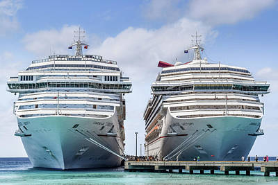 Carnival Victory Photograph - Carnival Liberty And Victory -1- by Debbie Ann Powell