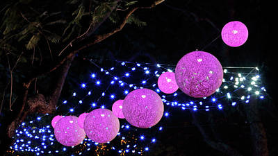 Photograph - Carnival Lights 1 by Nicholas Blackwell