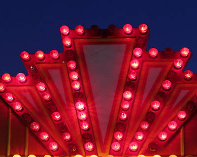 Photograph - Carnival Lights 6 by Mary Bedy