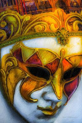 Photograph - Carnival Mask II by Russell Mancuso
