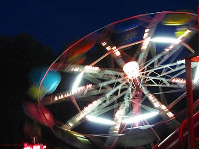 Photograph - Carnival Night by Jennie  Richards