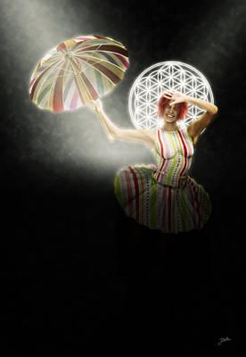 Cabaret Digital Art - Carnival Of Barranquilla by Joaquin Abella