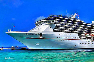 Digital Art - Carnival Pride by Stephen Younts