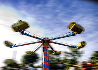 Photograph - Carnival Ride by Kevin Duke