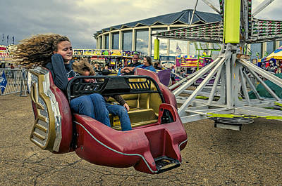 Photograph - Carnival Ride by Maria Coulson
