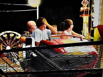 Painting - Carnival Ride by Robert W Cook