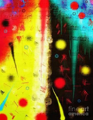 Digital Art - Carnival by Silvia Ganora