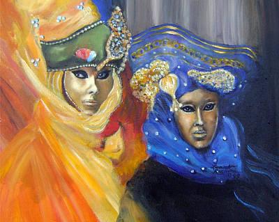 Carneval Painting - Carnival Time IIi by Leonardo Ruggieri