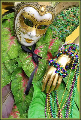 Photograph - Carnival Time - New Orleans by Dora Sofia Caputo Photographic Art and Design