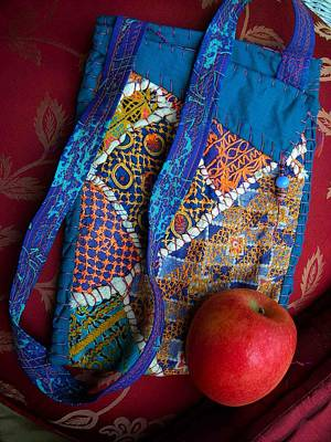 A Hand Mirror Tapestry - Textile - Carnivale  Nomadic Bag by Krisha Fairchild