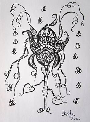Passionate Drawing - Carnivorous by Rosita Larsson