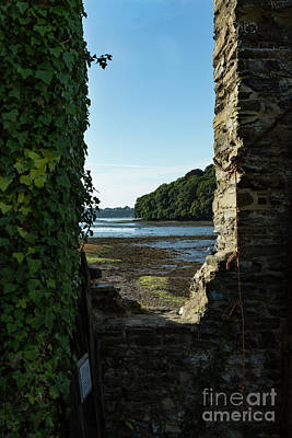 Photograph - Photographs Of Cornwall Carnon Mine Window by Brian Roscorla