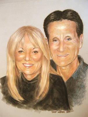 Carol And Stefan Art Print