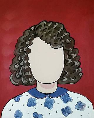 Painting - Carol by Carole Hutchison