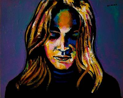 Wall Art - Painting - Carole King  The Early Years by Stuart Glazer