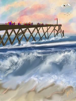 Carolina Beach Art Print