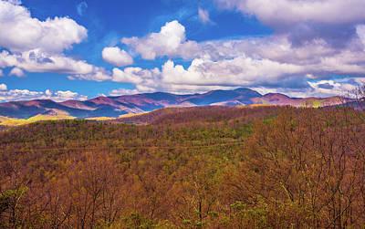 Photograph - Carolina Blue Ridge I by Steven Ainsworth