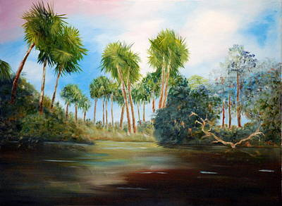 Painting - Carolina Breeze by Phil Burton