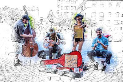 Nik Plugins Digital Art - Carolina Catskins by John Haldane
