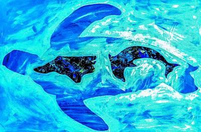 Wall Art - Painting - Carolina Coast by Barry Knauff